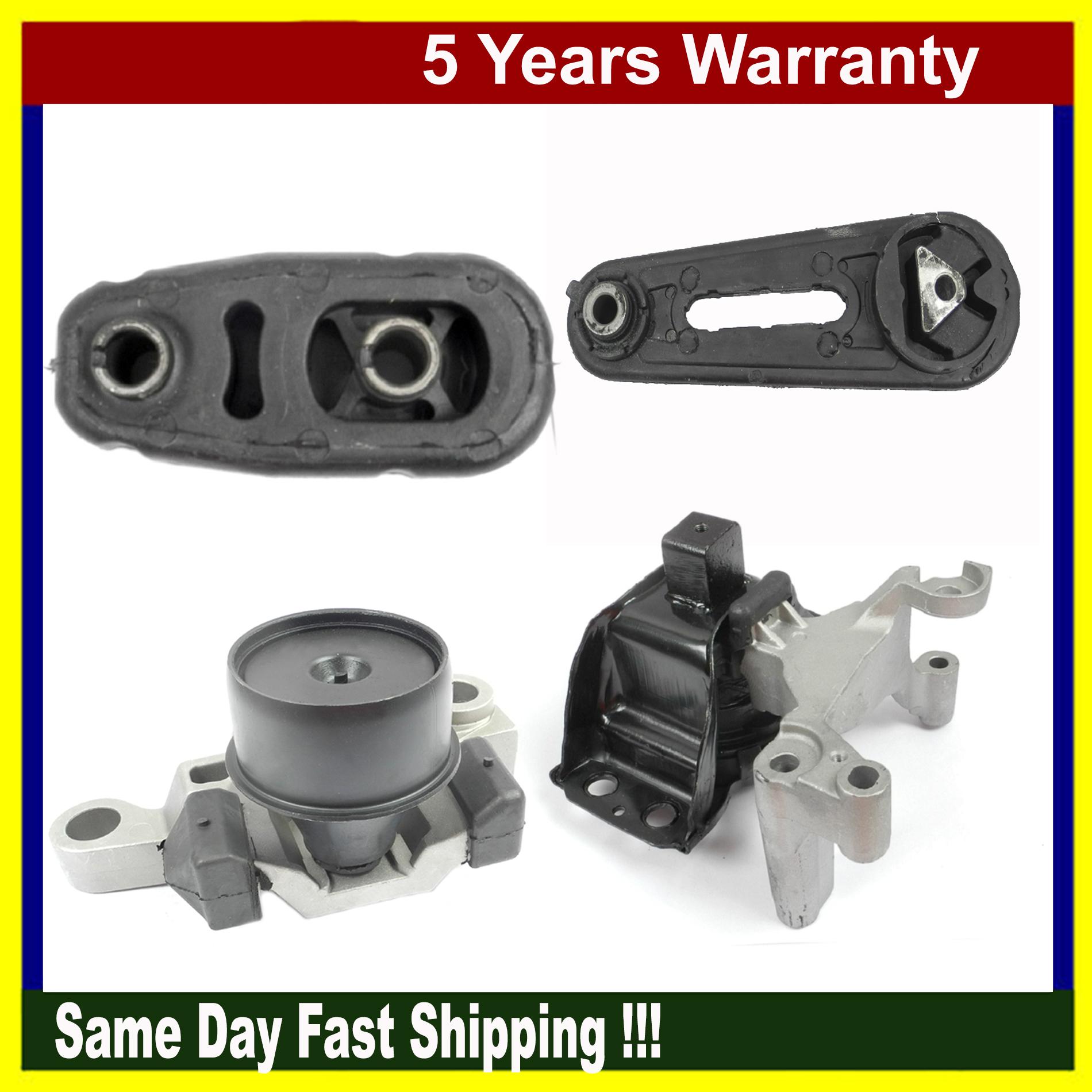M771 Engine Motor Mount Set For 07-11 Nissan Sentra 2.0L Set 4318 4345 4346 4348