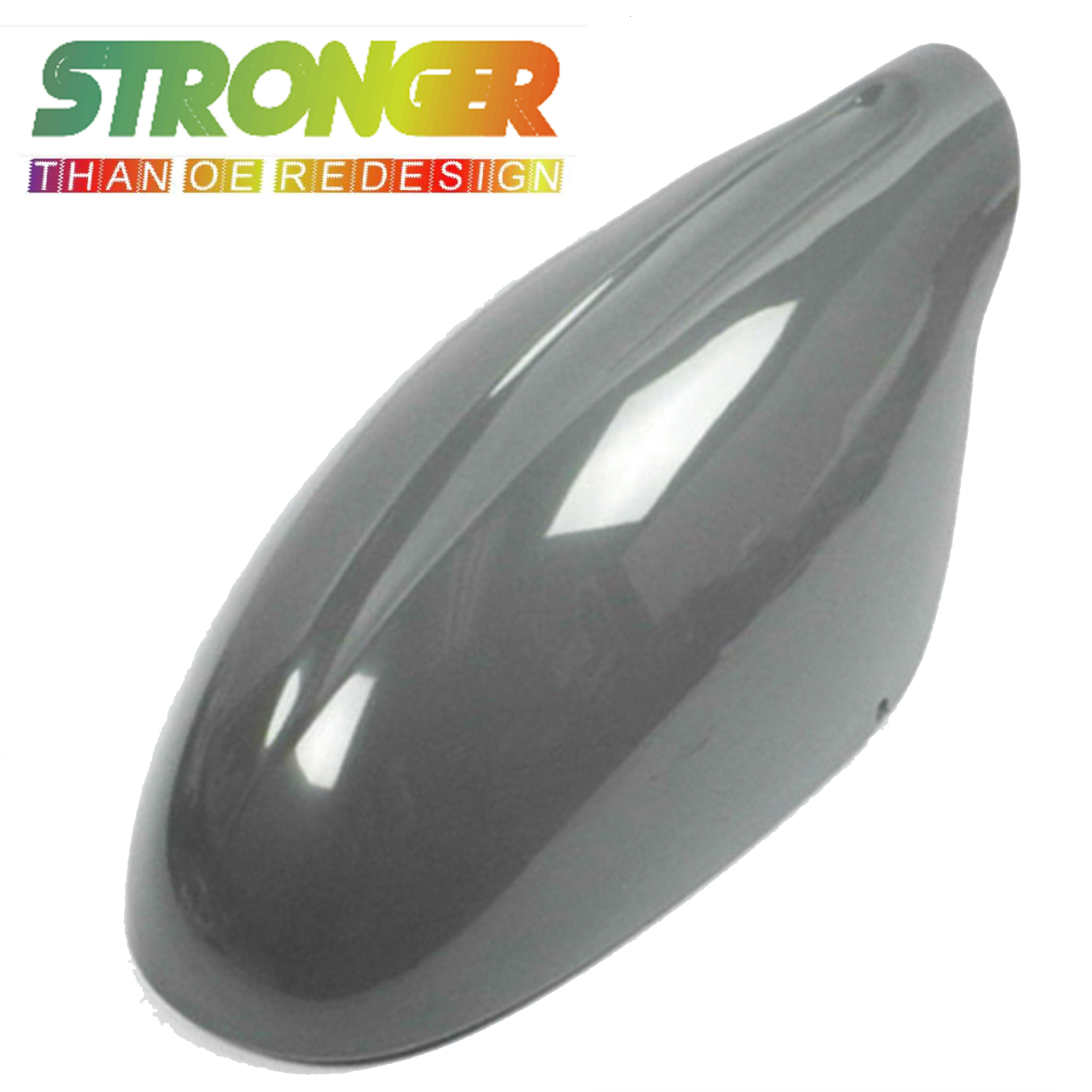 For Nissan Altima 2002-2006 Non Painted Gray Mirror Cover Cap Right Passenger
