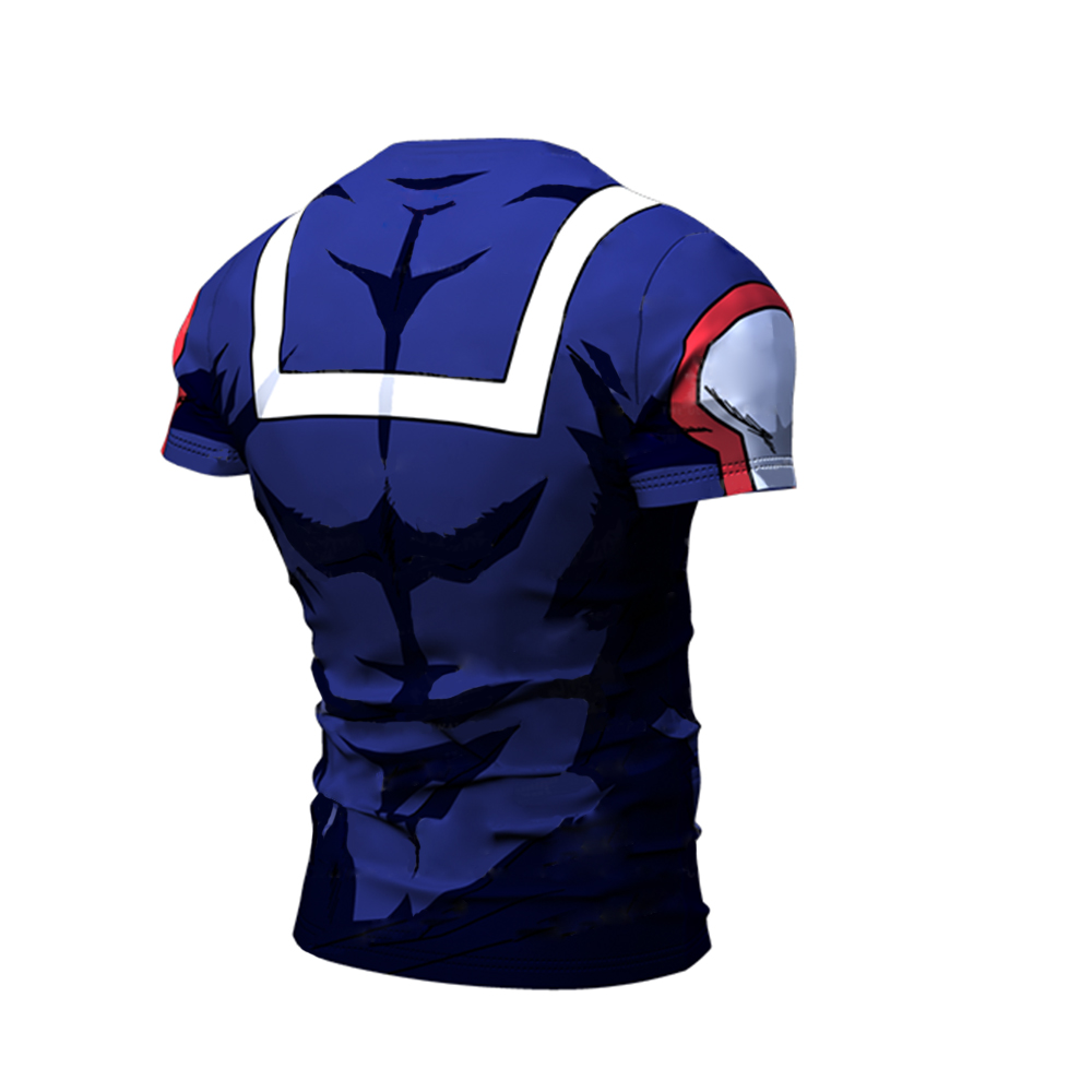 My Hero Academia Men T shirt Trouser Hoodie Sport Gym Costume All Might Cosplay