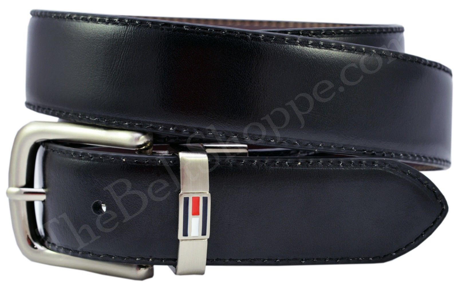 e6fee2392346 TOMMY HILFIGER Men s Reversible Dress Belt - Brown   Black ...