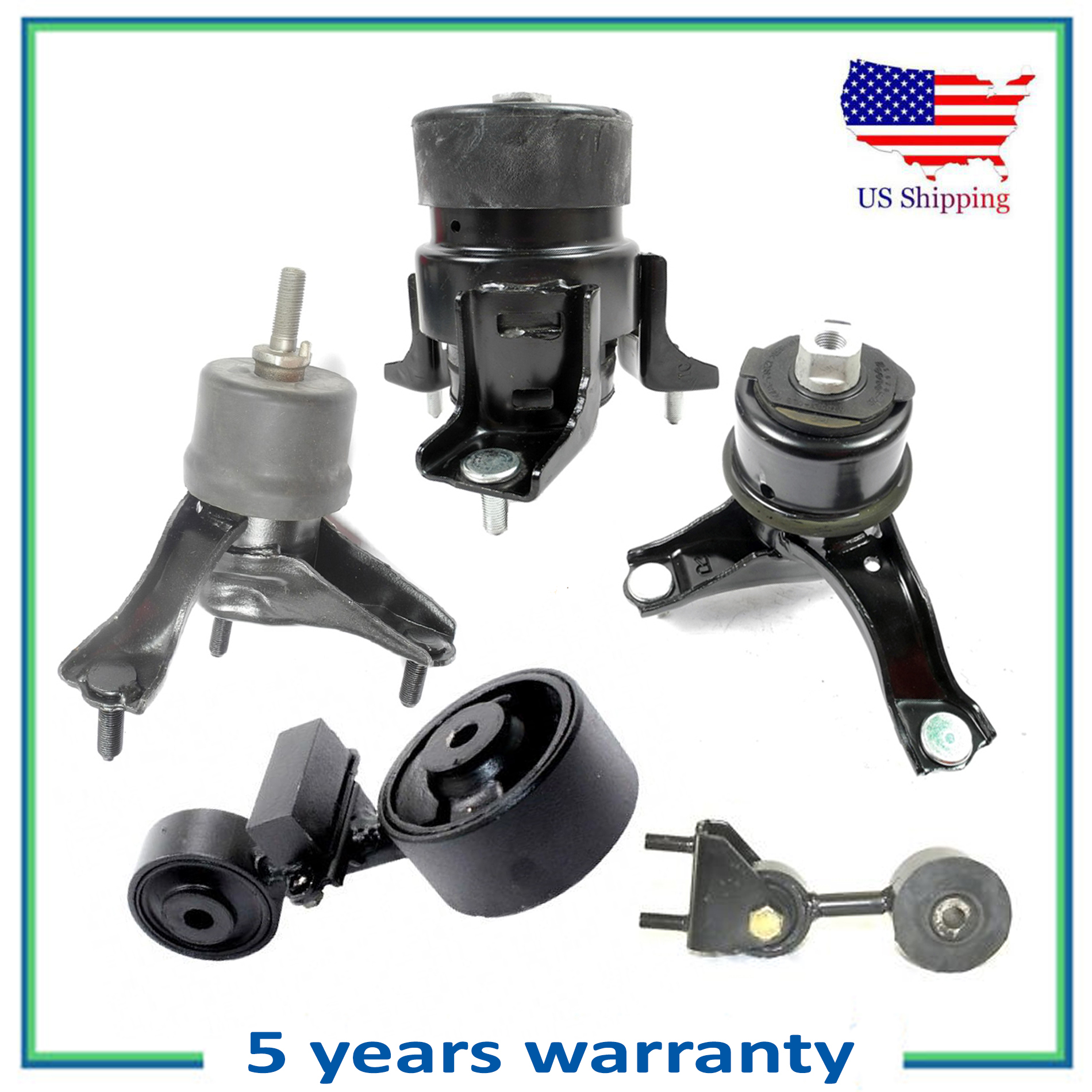 Engine Motor /& Trans Mount For 07-09 Toyota Camry 2.4L 4269 4274 4288 4295 62009