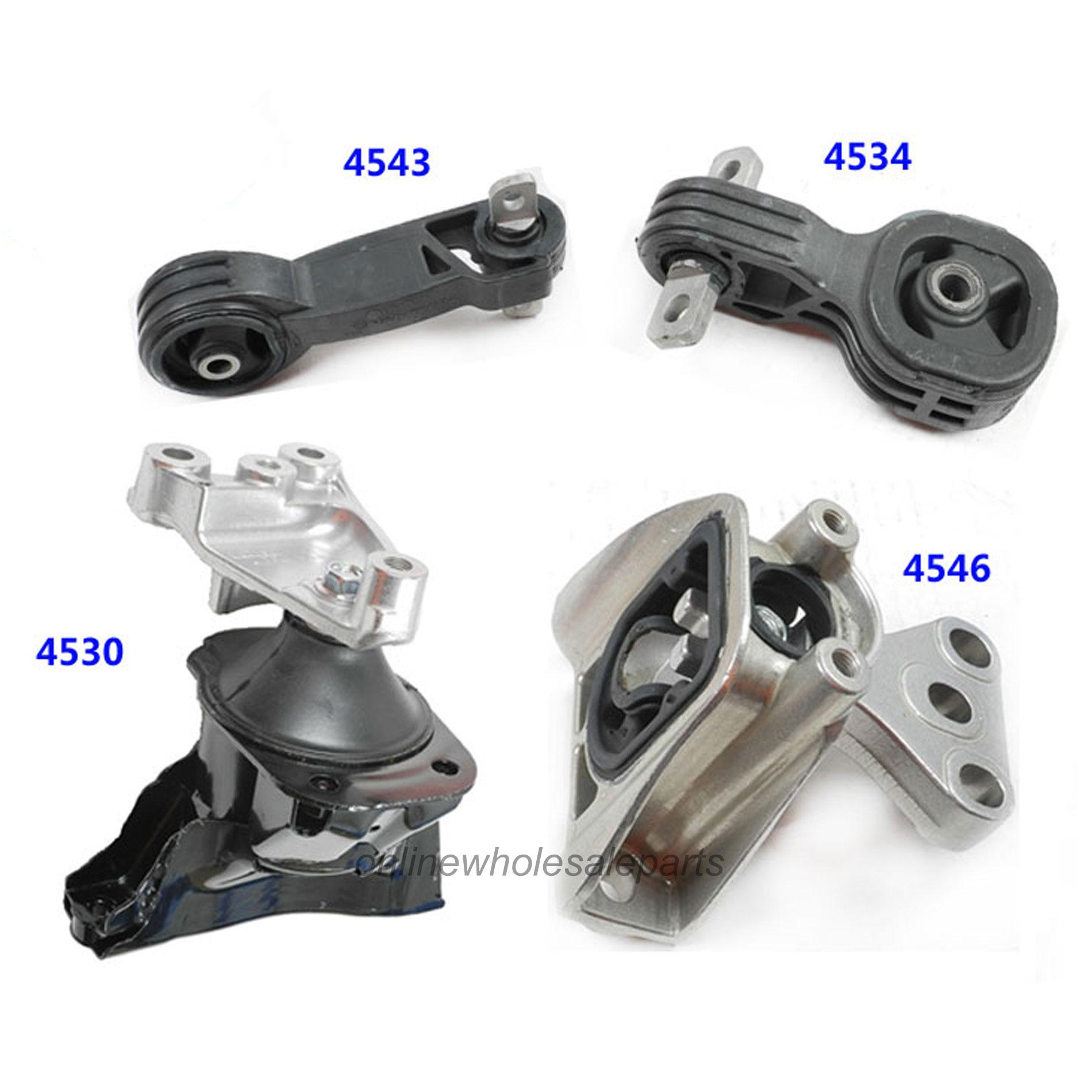 4543 FOR HONDA CIVIC 1.8L ENGINE MOTOR MOUNT NEW