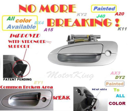 MotorKing Door Handle For NISSAN ALTIMA Outside Front Left KY1 ...