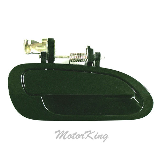 For 98 99 00-02 Honda Accord Rear Left Dark Green G87P Outside Door Handle B4142