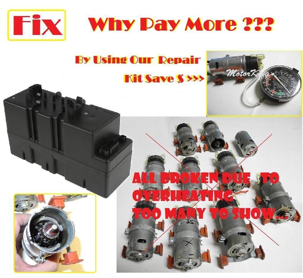 W220 For Benz Vacuum Assist Supply Pump Air Motor