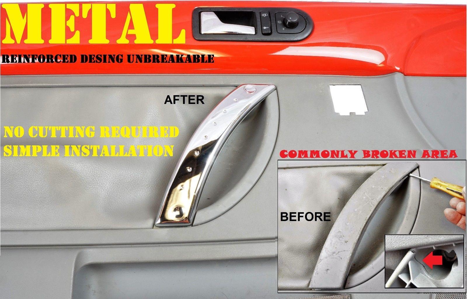 Metal reinforced for 98 2010 vw beetle door panel door handle repair metal reinforced for 98 2010 vw beetle door panel door handle repair kit chrome planetlyrics Choice Image