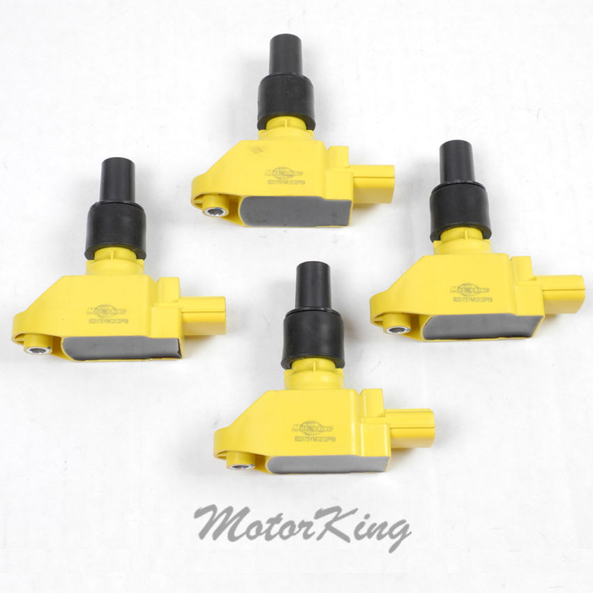 04-09 Set 4 Ignition Coil /& NGK Spark Plug /& Wire For MAZDA RX-8 IC239 B2875Y*4