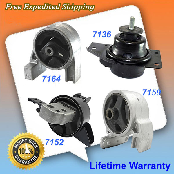 For 2006-2011 fits Hyundai Accent 1.6L Rear Engine Motor Mount 7164