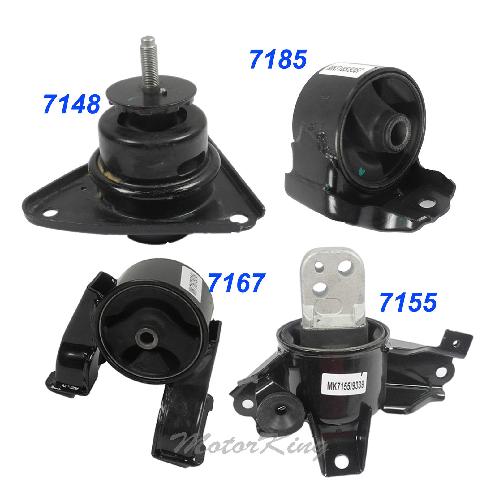 For 07-11 Elantra 2.0L Engine Motor /& Trans Mount Auto 7155 7148 7167 7185 M1277