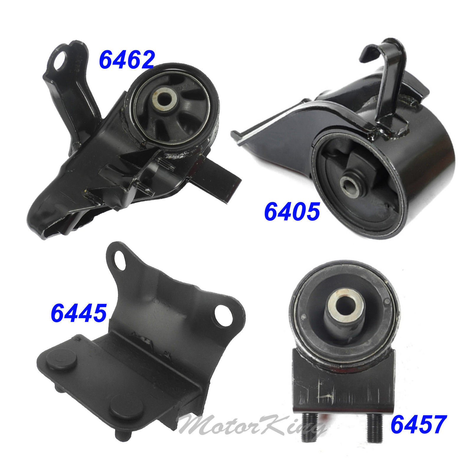 93-97 For Mazda MX-6 2.5L Engine Motor & Trans Mount Manual 6405 6445 6457  6462