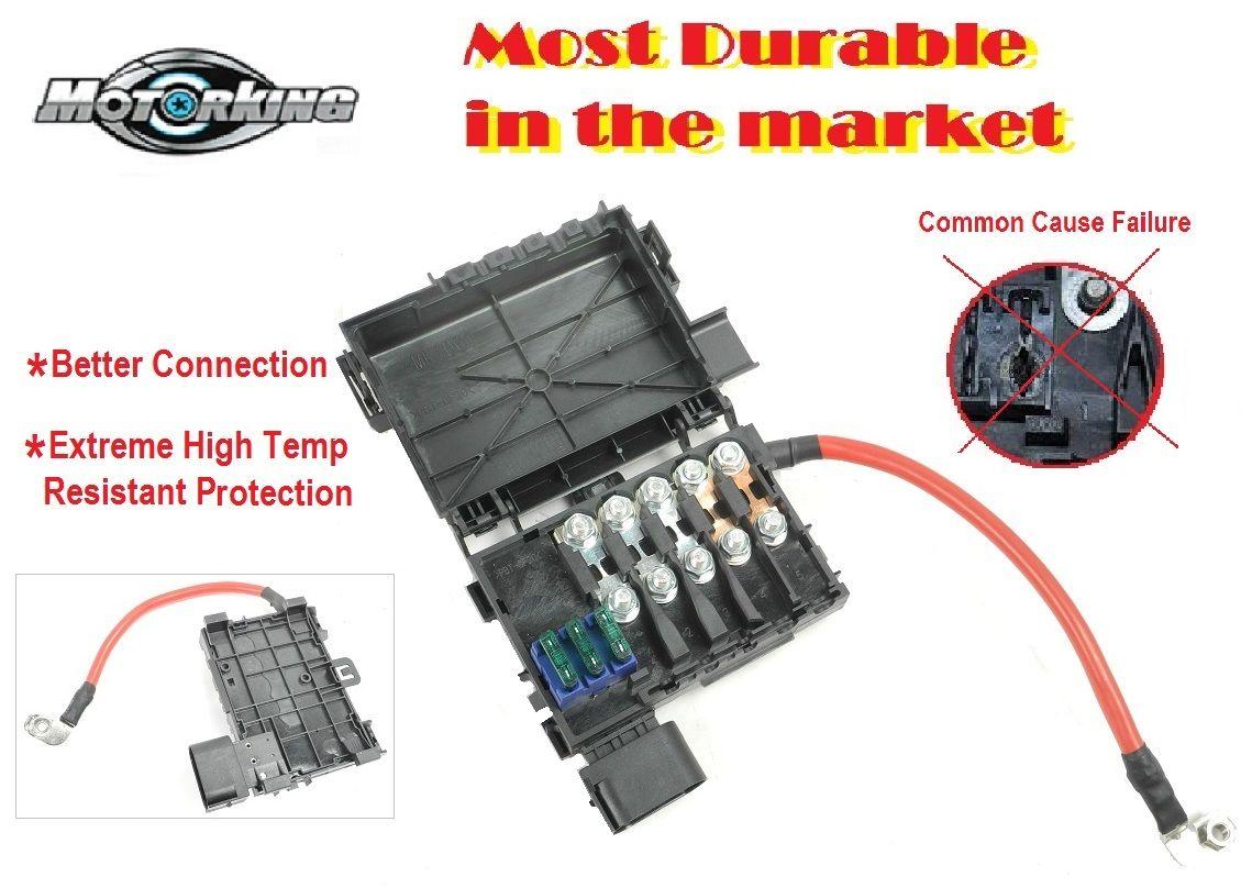 Nomorebreaking Fuse Box For Vw Jetta Golf Beetle 18l 20l Melting 1j0937617d Nbc061b