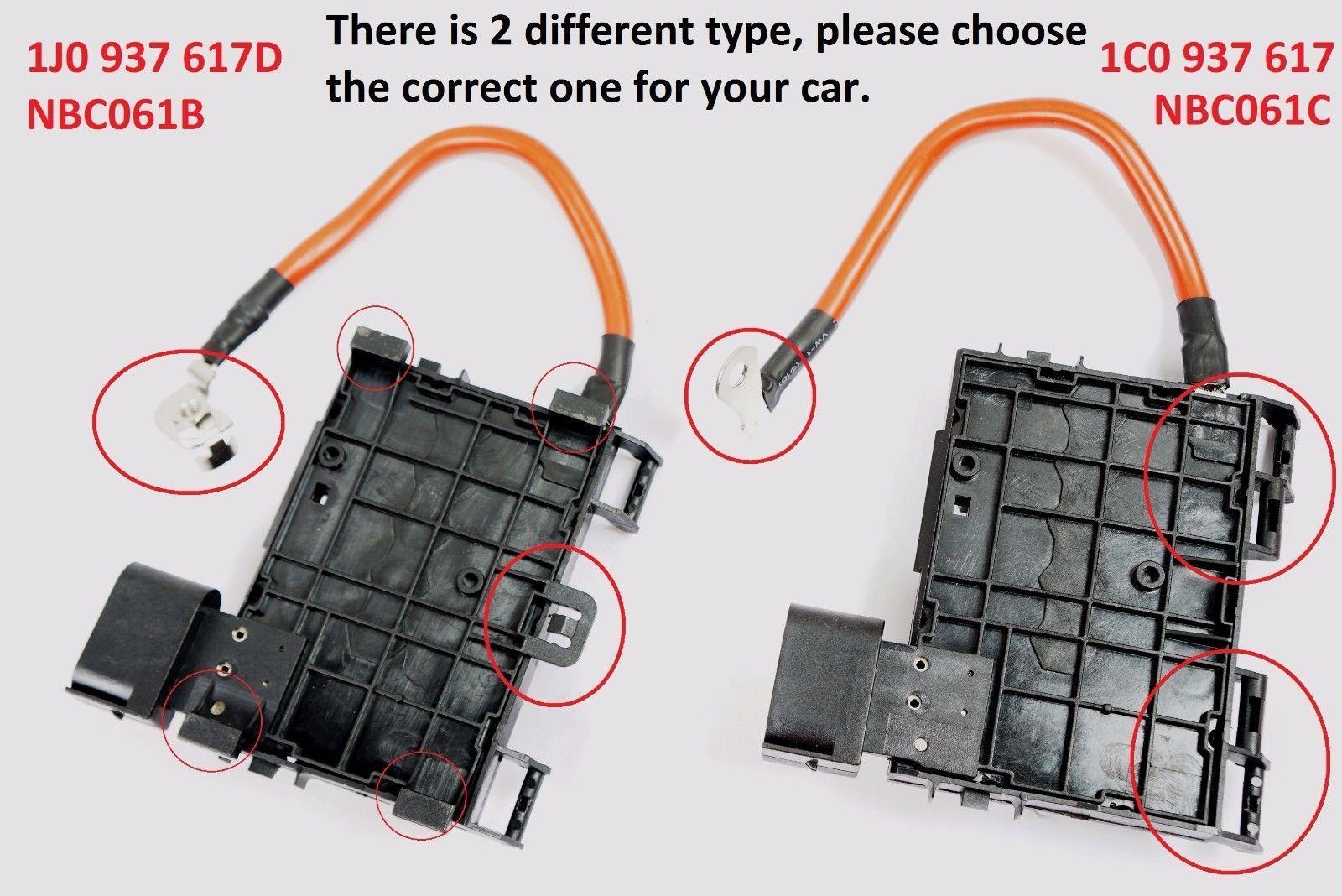 Nomorebreaking Fuse Box For Vw Jetta Golf Beetle 18l 20l 2000 Card 1j0937617d Nbc061b