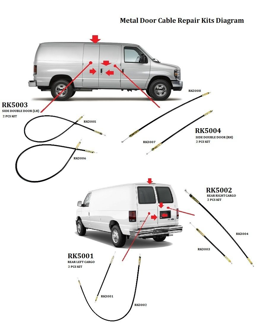 meta ford econoline van handle rear cargo door latch. Black Bedroom Furniture Sets. Home Design Ideas