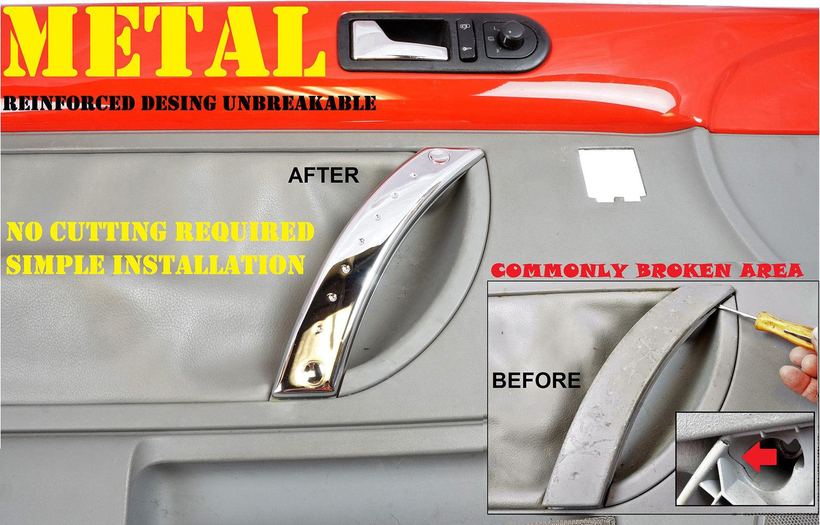Metal Reinforced Vw Beetle Front Right Door Panel Door Handle Repair