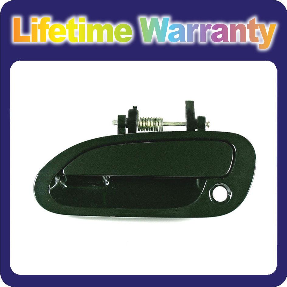 B4140 For Outside Door Handle 98 99-02 Honda Accord Front Left Dark Green G87P