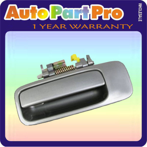 For 1997-2001 Toyota Camry Rear Left Outside Door Handle Gray 1B2 Driver B447