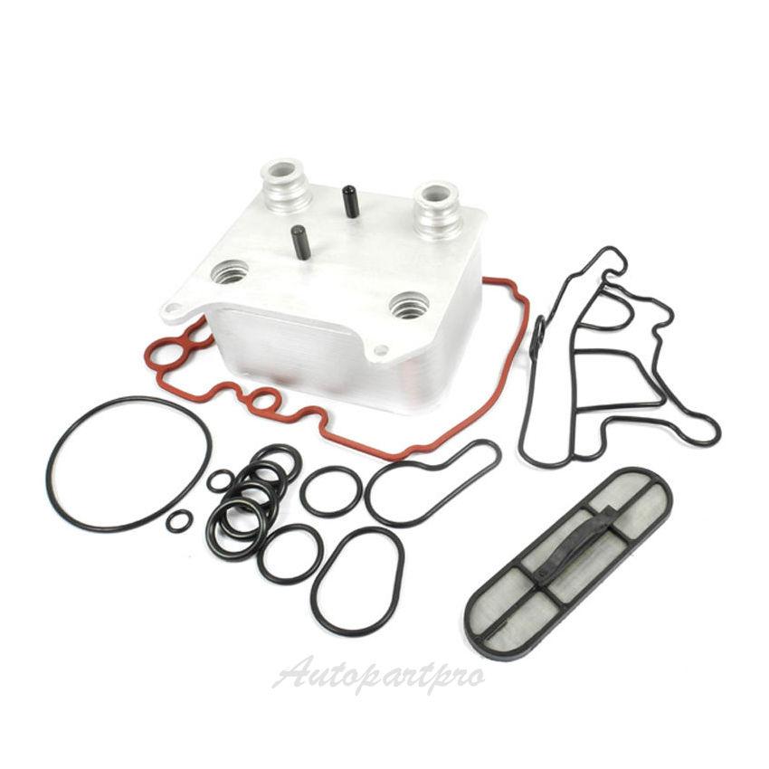 Diesel Complete Oil Cooler Kit For Ford F250 E350 F350 E450 F450