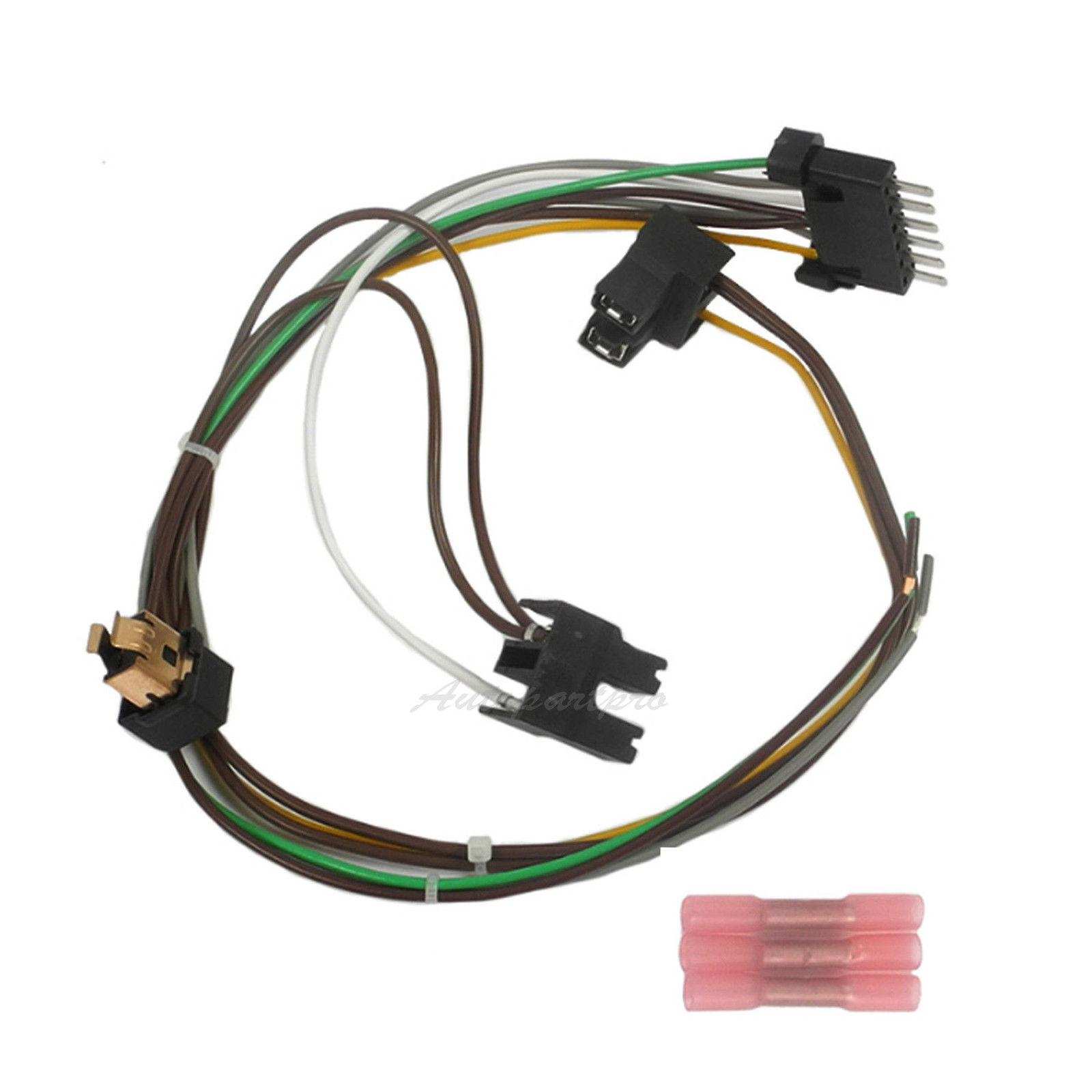 Details about D124L Headlight Wiring Harness Repair Kit Left LH For on