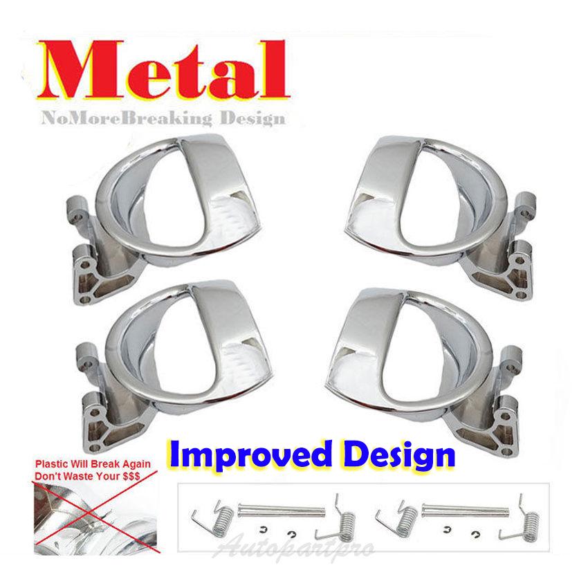 DS484 For 06-11 HHR Front L /& R+Rear L /& R Inside Door Handle Repair Kit 4PCS