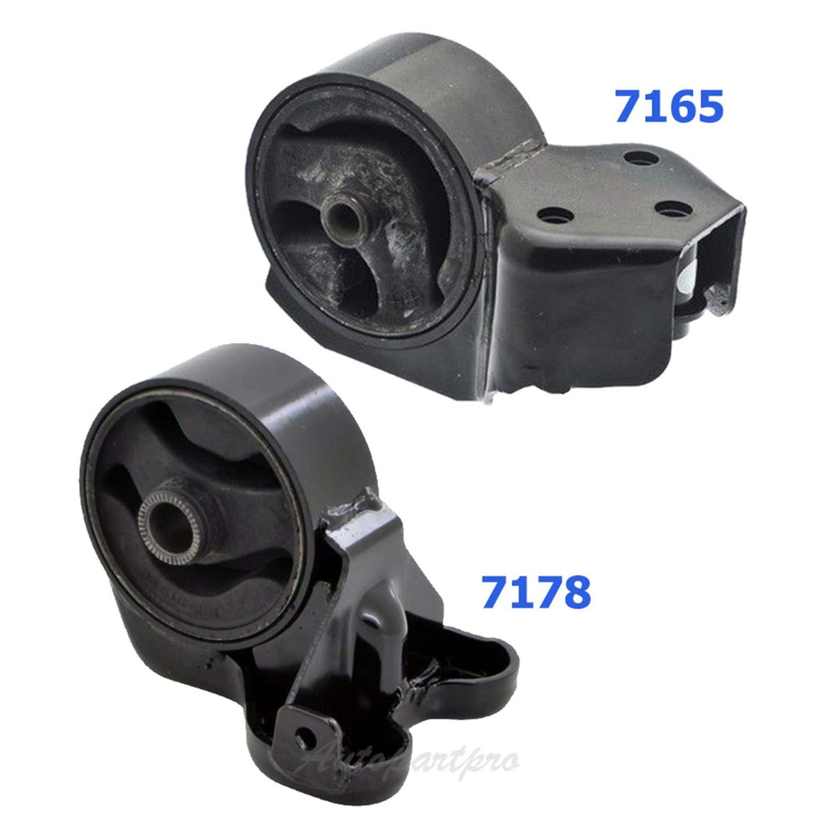 Engine Motor Mount 2PCS 7178 7165 M1268 For 2007-2009 Kia Spectra Spectra5 2.0L