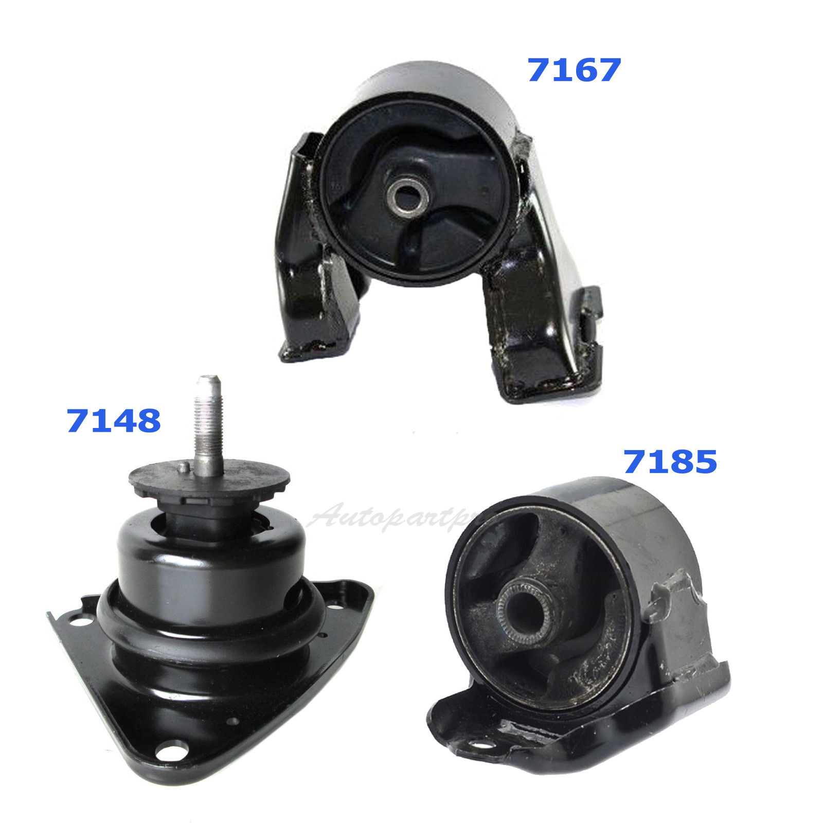 07-10 for Hyundai Elantra 2.0L for Manual. Engine Motor /& Trans Mount Set 3PCS