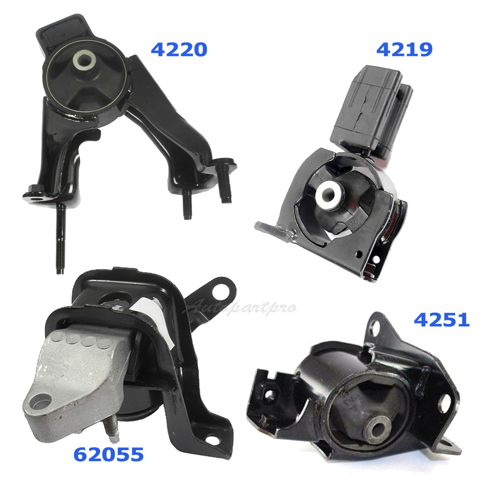 4PCS Set Engine Motor /& Transmission Mount 2000-2005 For Celica GT 1.8L M1313