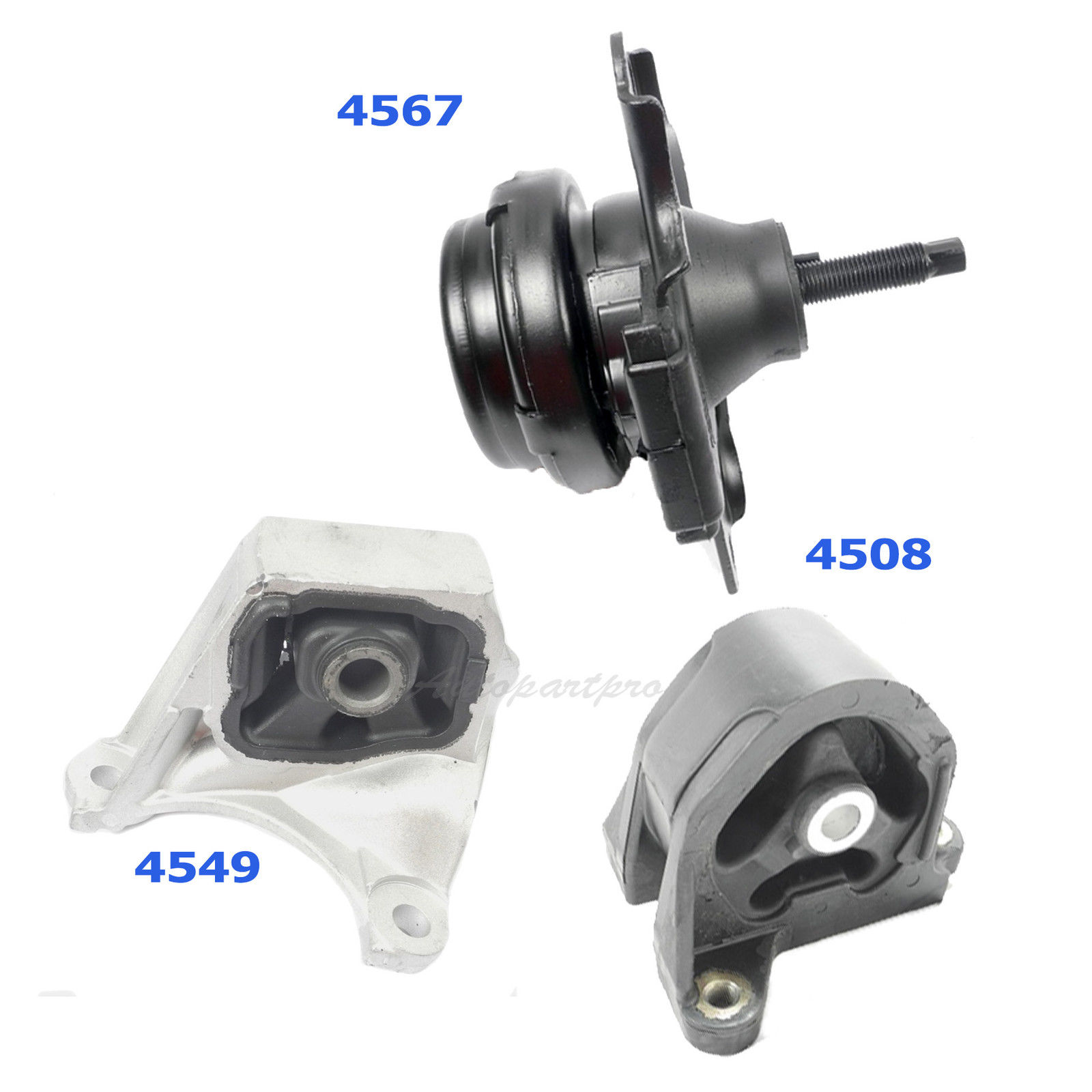 Rear Engine Motor Mount For Acura RSX 2.0L 02-05 Honda Civic Si 2.0L 4508