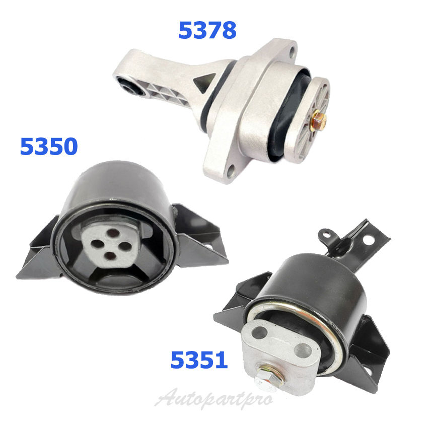 3 PCS MOTOR /& TRANS MOUNT FOR 2004-2008 Chevrolet Aveo 1.6L