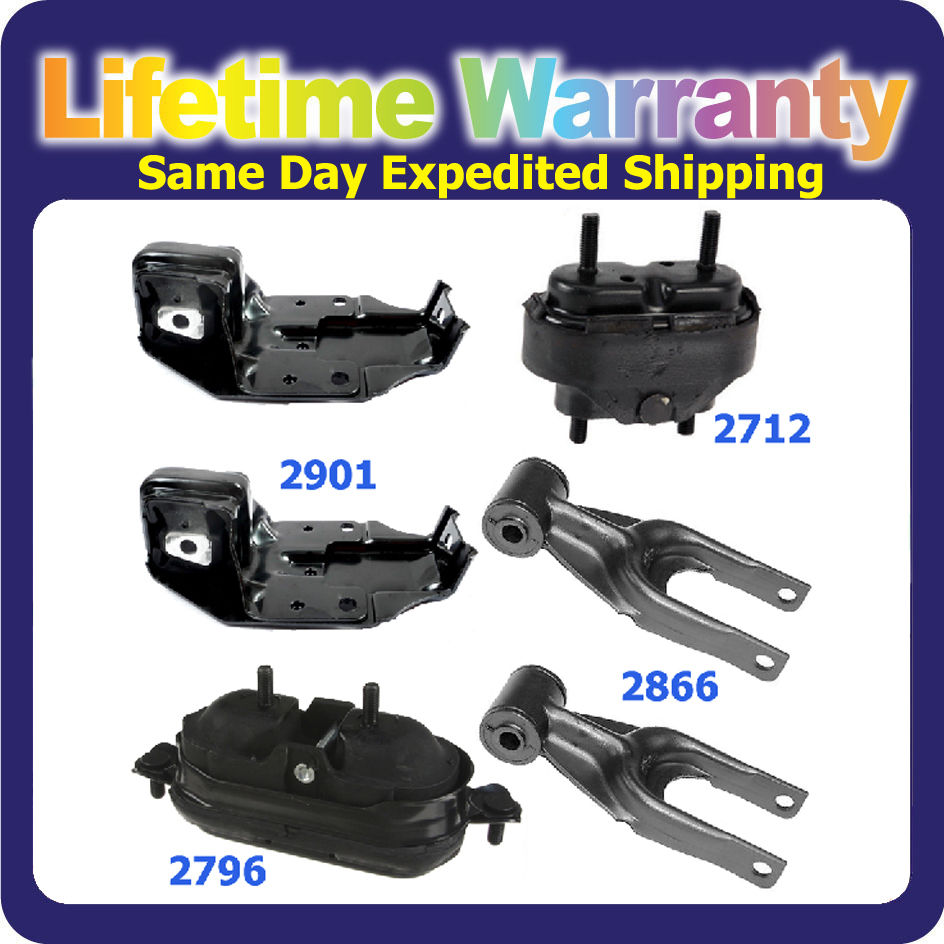 M659 For Buick Pontiac Chevrolet Engine Motor Mount Set 5PCS 2866*2 2901*2 2796