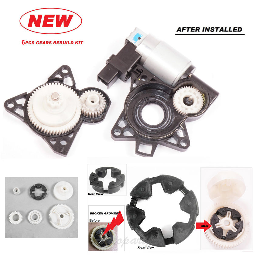 Mazda Cx 7 2010 2012 Oil Cooler: RK1010 Power Window Motor Gear Regulator Set For Mazda 5 6