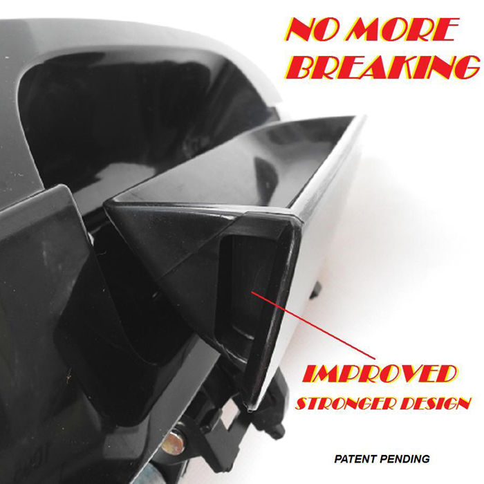 NoMoreBreaking For Nissan Altima Outside Door Handle B4004 FL Ruby Mica RED AX3