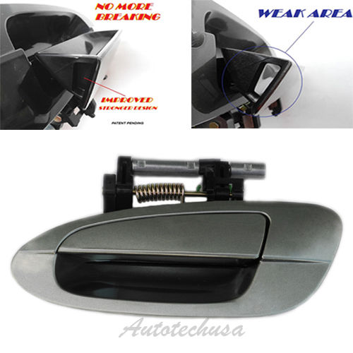 B3777 For 02-06 03 04 05 NISSAN ALTIMA Outside Door Handle DY2 Emerald Rear Left