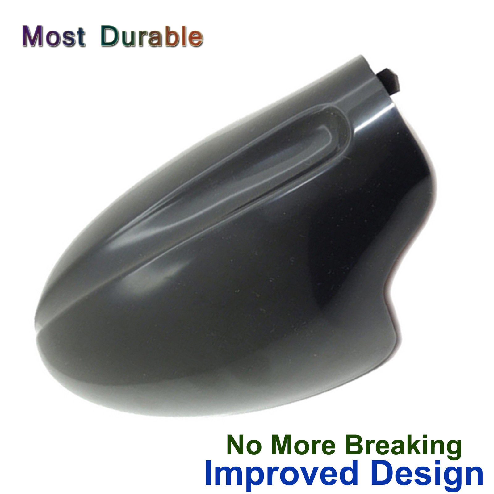 Side Mirror Cover Cap for Nissan Altima  2013-2017 Painted Black Driver Left