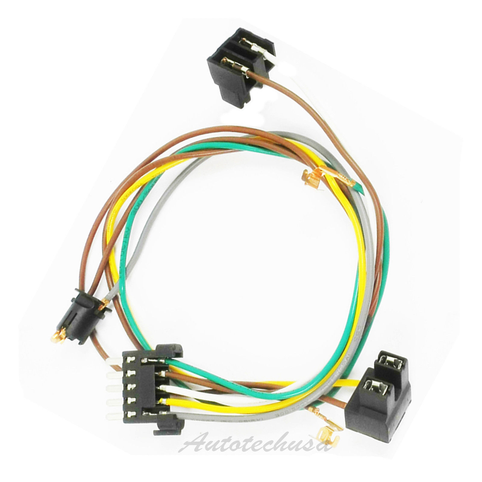 Details about Left or Right Headlight Wire Harness Connector Kit For on