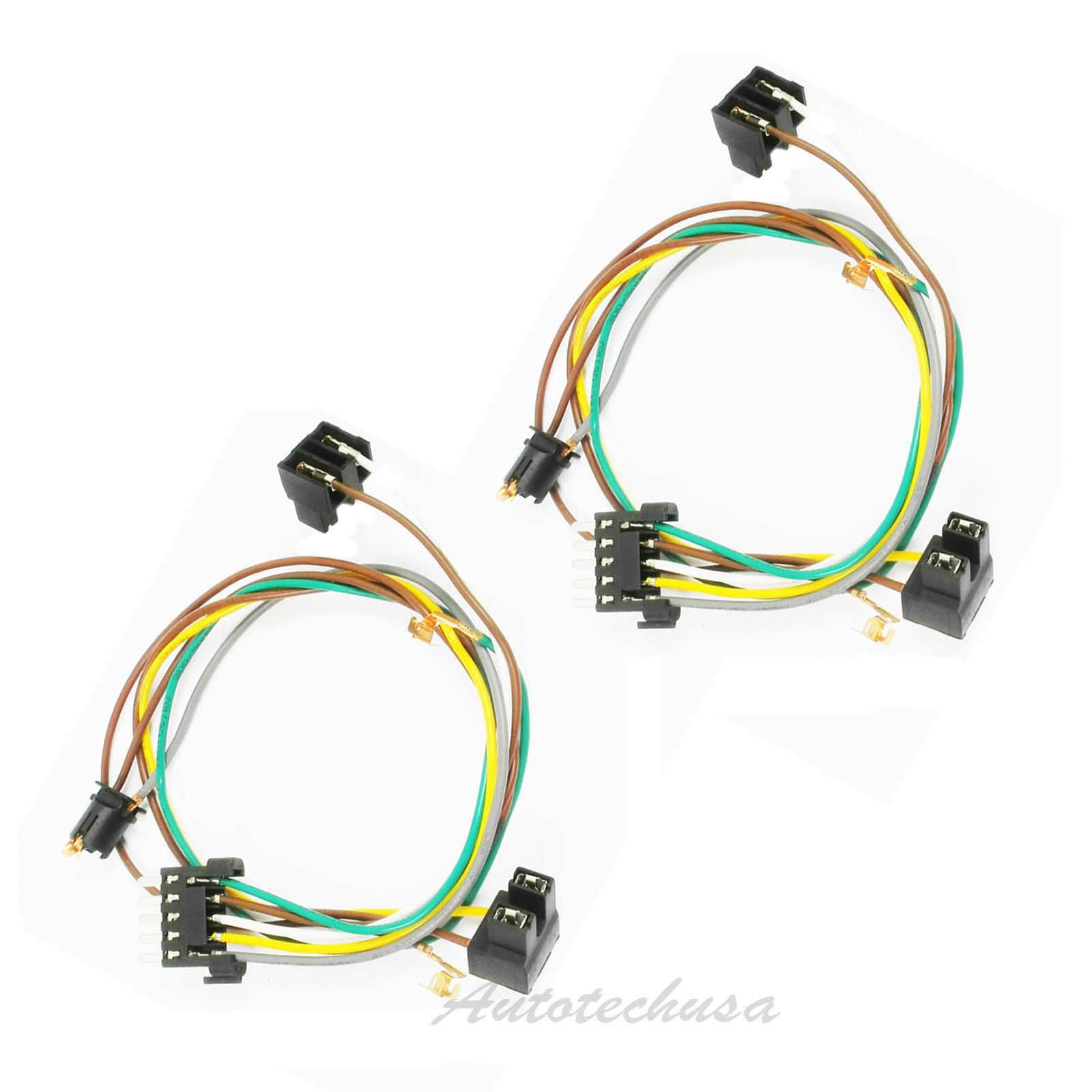 Left + Right Headlight Wire Harness Connector Kit For DC111 Mercedes W203  C320 | eBayeBay