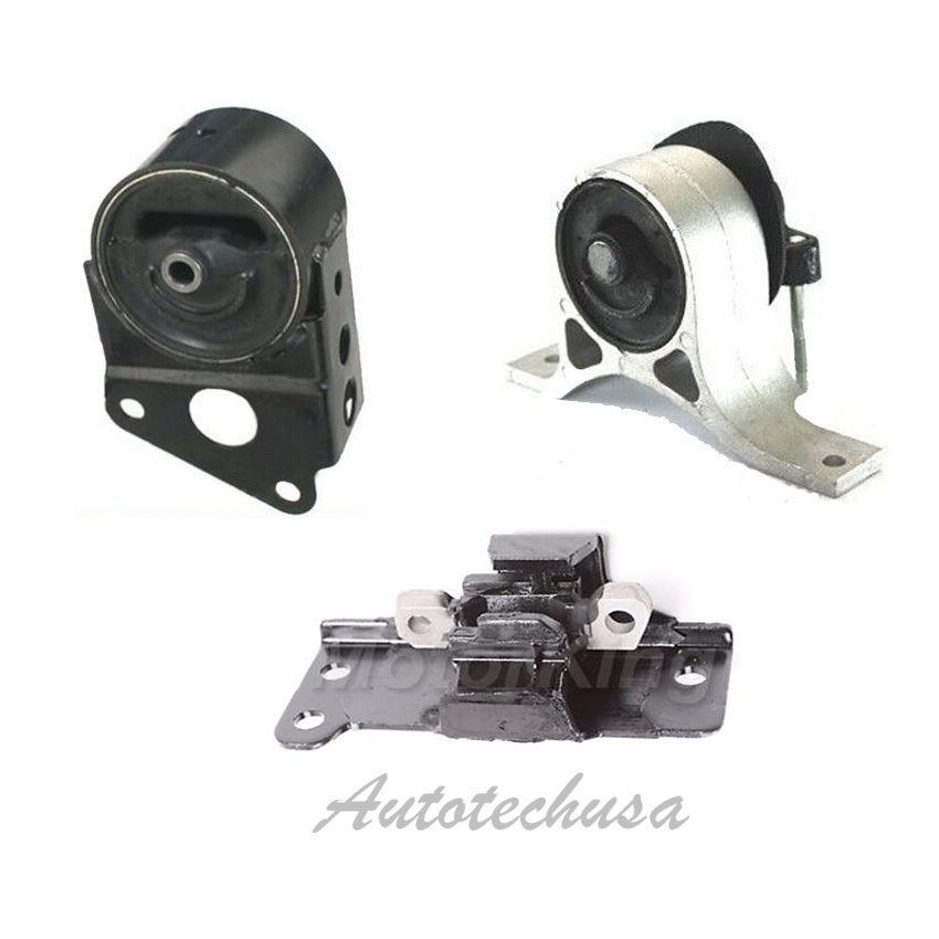 04-09 For Nissan Altima Maxima Quest 3.5L Engine Mount 7349 7351 7348 #M017
