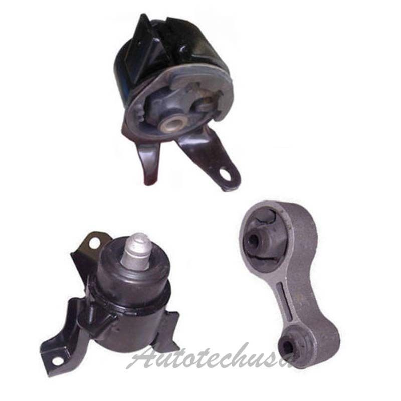 Engine Motor Mount Set 3 Hydraulic For M092 03-08 Mazda 6 2.3L 6497 6494 3453