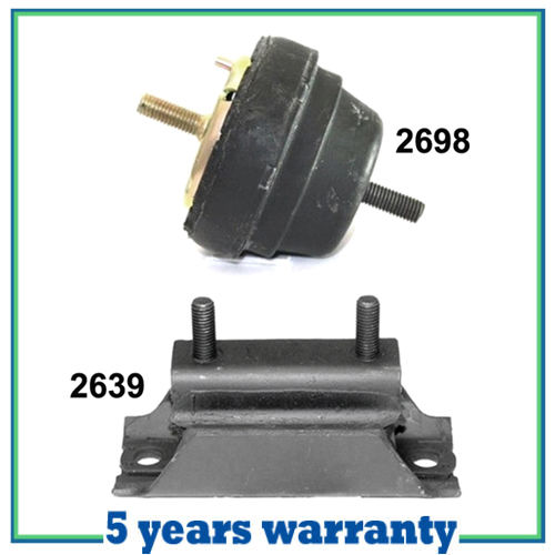 for 1994-1997 Mazda B2300 2.3L RWD Front Engine Motor /& Transmission Mount 3PCS