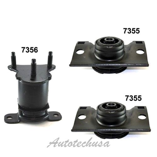 For Infiniti Nissan Armada Pathfinder Trans /& Engine Mount Set 7355*2 7356 M1049