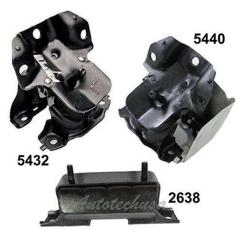 Mount 08-13 M1130 For Chevy Silverado 1500//GMC Sierra 1500 4WD Motor /& Trans