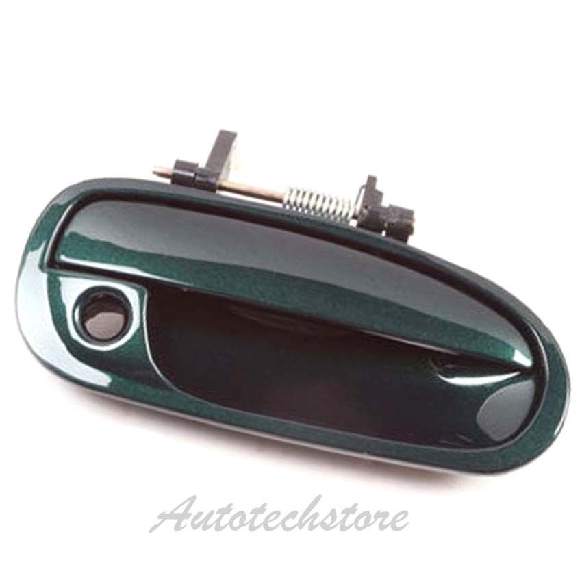 Outside Door Handle For 1996-2000 Honda CIVIC Rear Right G95P Clover Green Pearl
