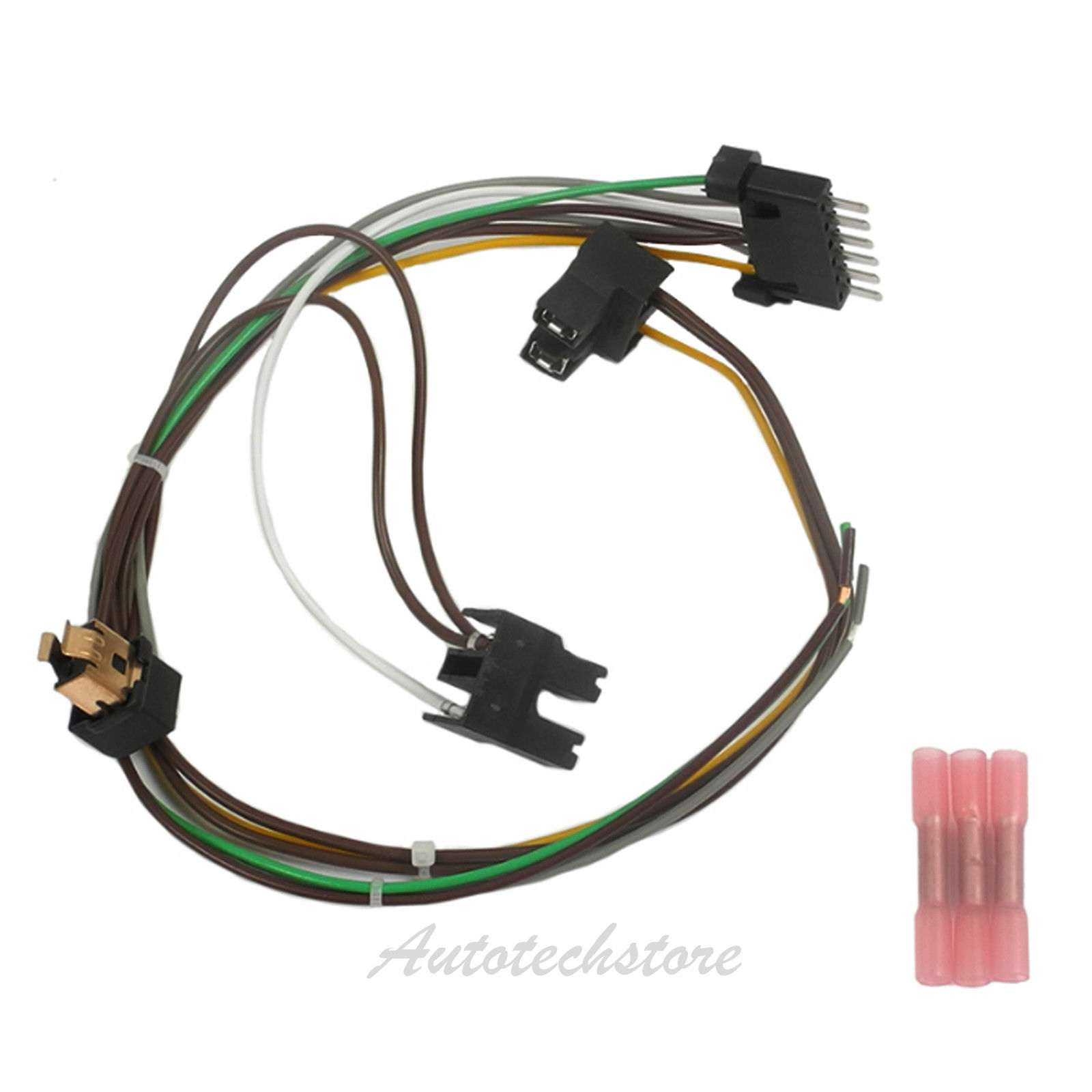 right headlight wiring harness repair kit for 00 02 w220 s430 s600 rh ebay com Engine Wiring Harness Repair Ford Wire Harness Repair