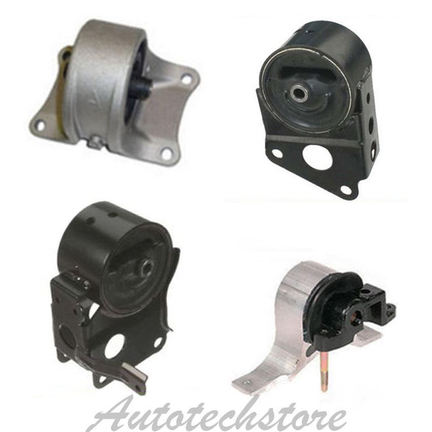 Transmission Engine Motor Mount Kit G091 For Nissan Alitma Quest 3.5L Auto Trans