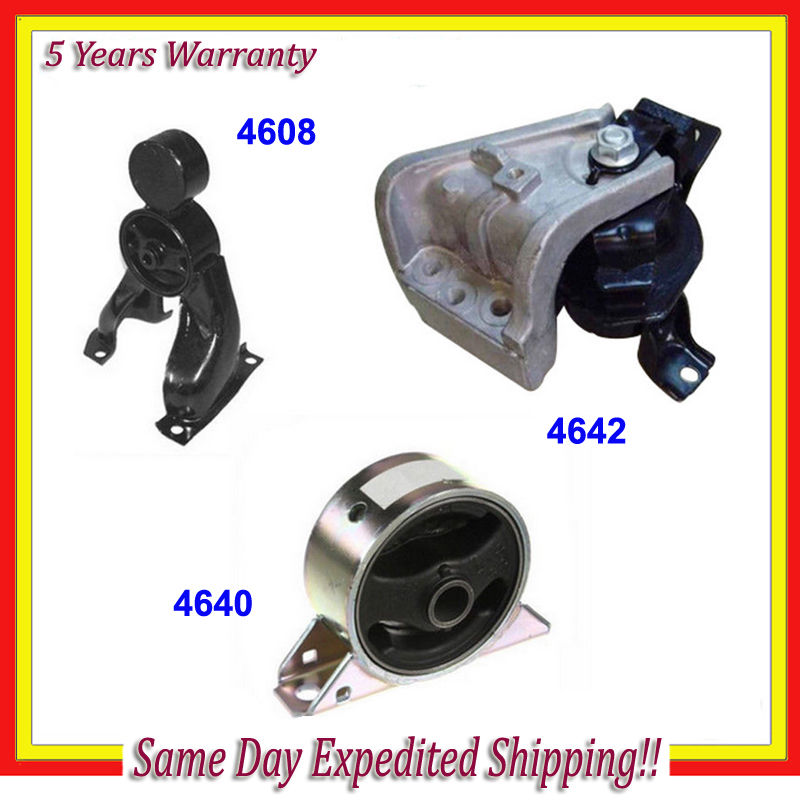 New For 03-06 Mitsubishi Engine Motor Mount A4640 A4642 A4608 M596 Set 3