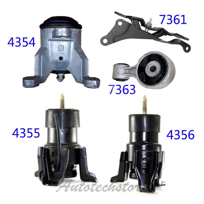 Auto Engine Motor /& Trans Mount For Nissan Altima Maxima 3.5L 4355 4356 7361