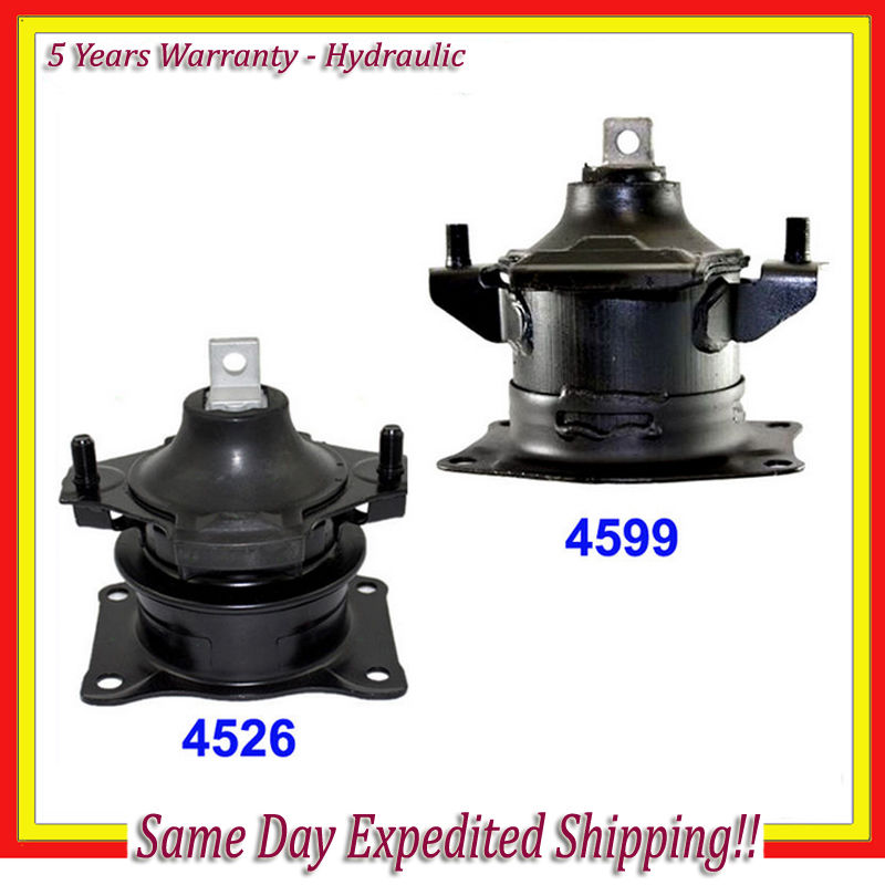 3.5 L 2pcs Engine Motor Mounts Front Rear Set Kit For Acura RL TL 3.2L