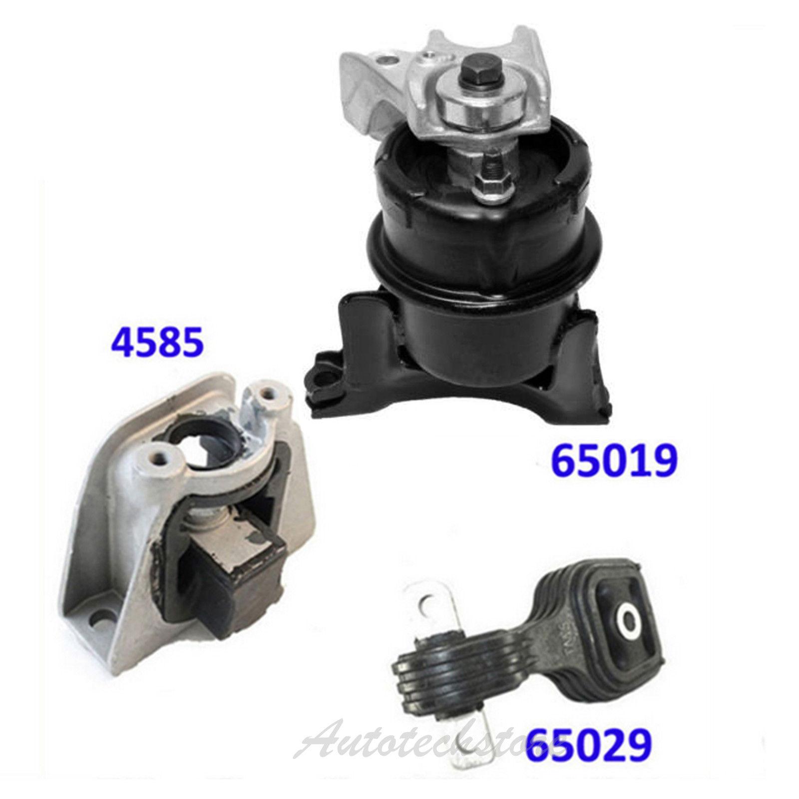A65019 Front Engine Motor Mount For 06-11 Honda Civic 1.3L Hybrid 50820SNC043