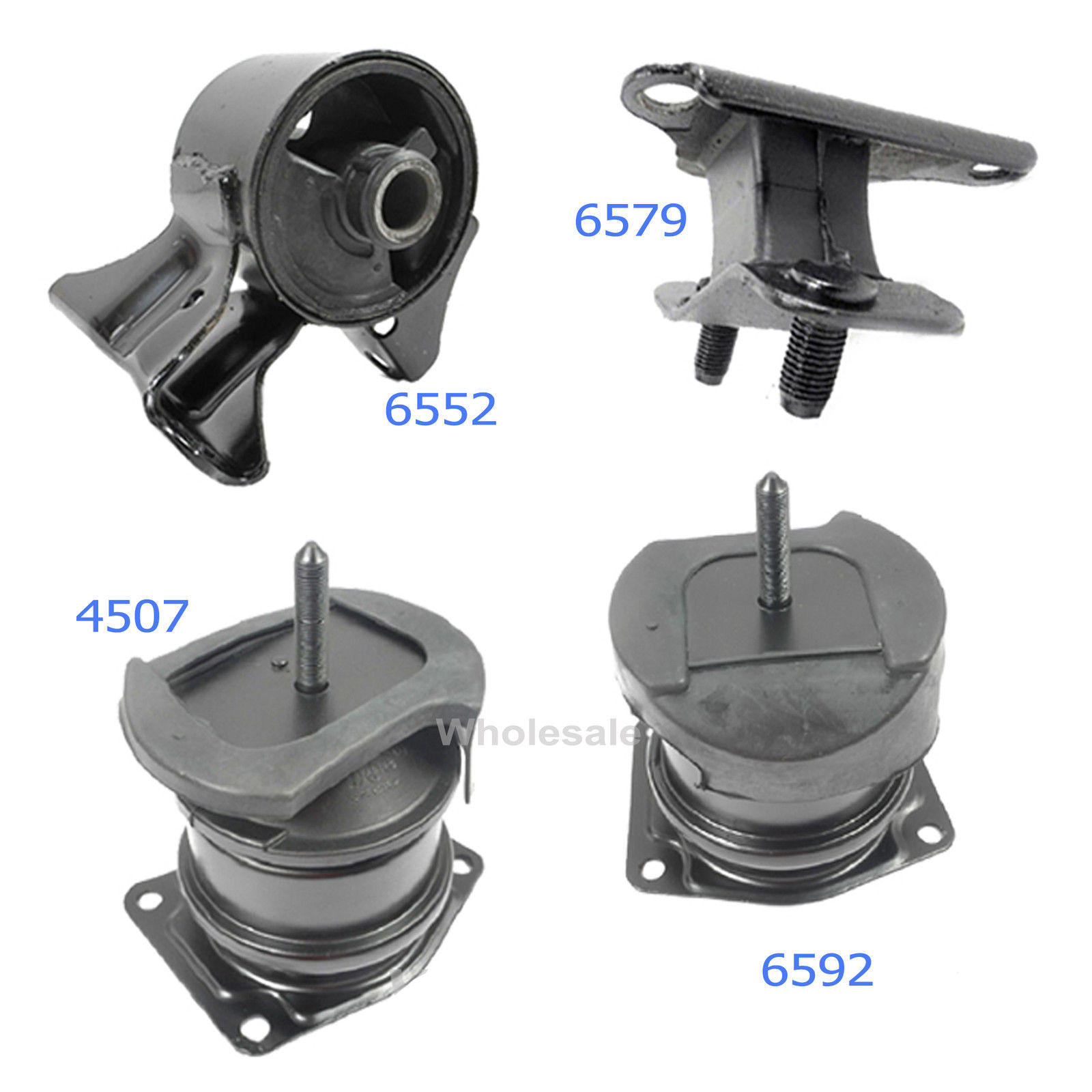 M065 6592 4507 6552 6579 Engine Motor Mount For 6579 98-02 Honda Accord 3.0L