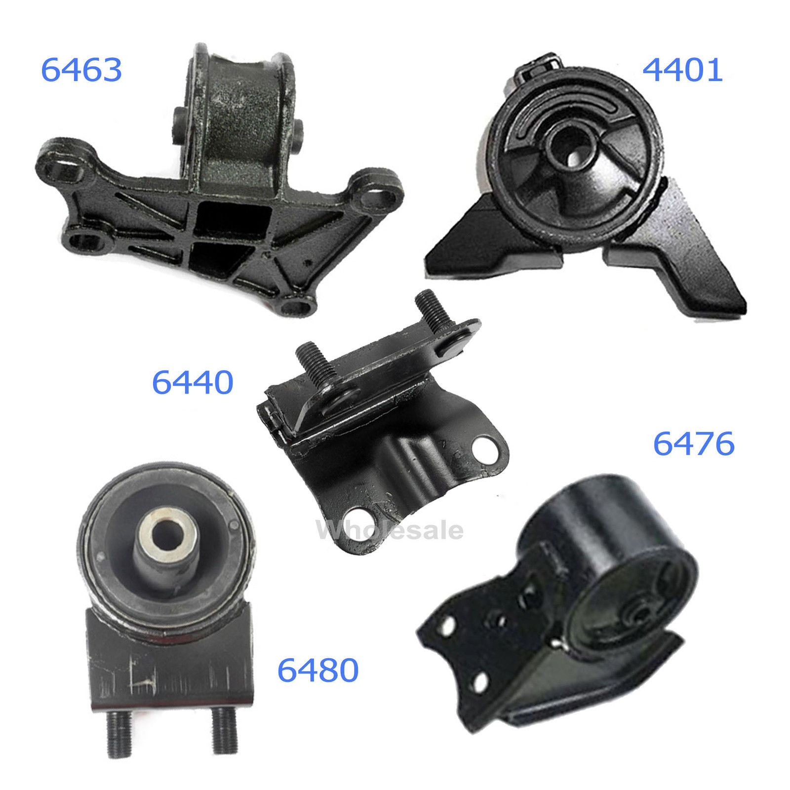 2000 For Mazda 626 2.0L Engine/&Trans Motor Mount 4401 6440 6463 6476 6480 M1065