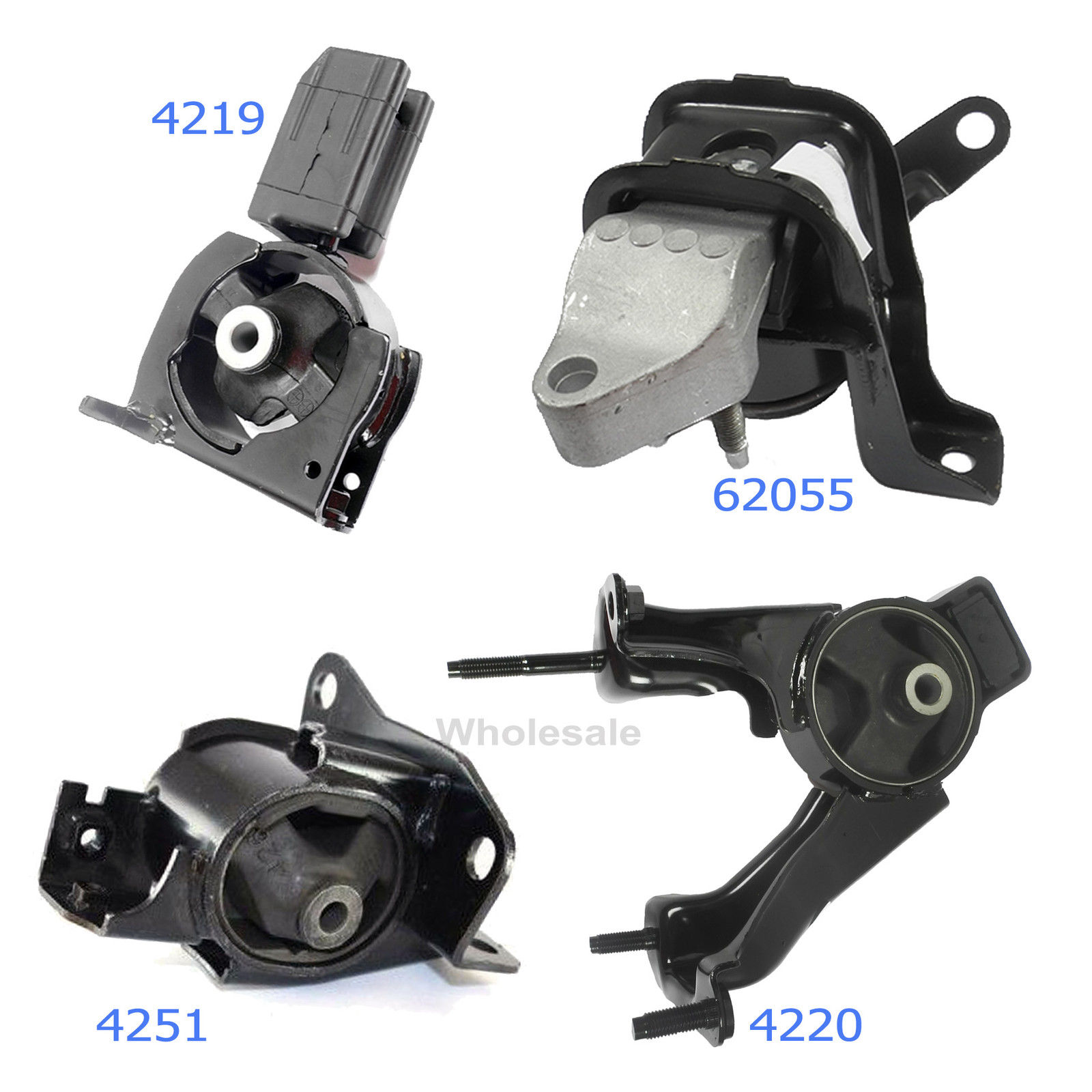 Engine Mount Front Right DEA//TTPA A62055HY
